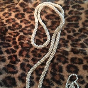 Jewelry - This is like a tie it goes around the collar.